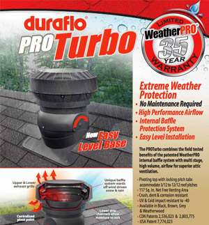 Duraflo PROTurbo Sheet