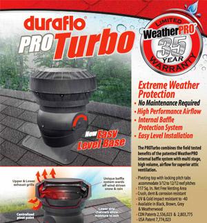 Duraflo PROTurbo Sheet