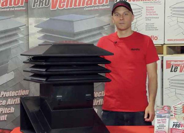 PROVentilator features benefits